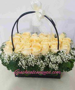 Giỏ hoa tươi giao hoa toàn quốc D02