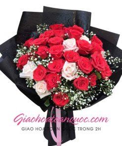 Bó hoa tươi giao hoa toàn quốc E01