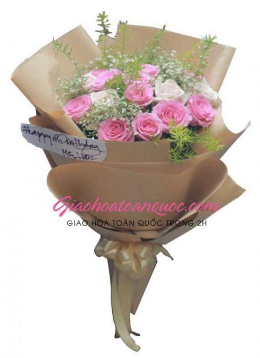 Bó hoa tươi giao hoa toàn quốc E02