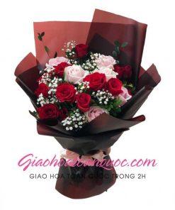 Bó hoa tươi giao hoa toàn quốc E04