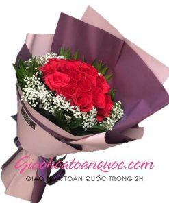 Bó hoa tươi giao hoa toàn quốc E07