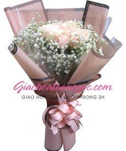 Bó hoa tươi giao hoa toàn quốc E12
