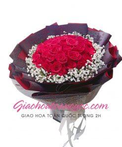 Bó hoa tươi giao hoa toàn quốc E14