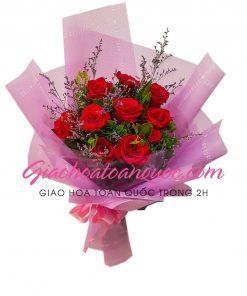 Bó hoa tươi giao hoa toàn quốc E15
