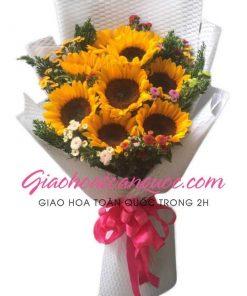 Bó hoa tươi giao hoa toàn quốc E16