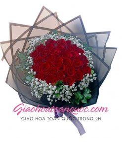 Bó hoa tươi giao hoa toàn quốc E17