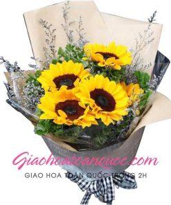 Bó hoa tươi giao hoa toàn quốc E18