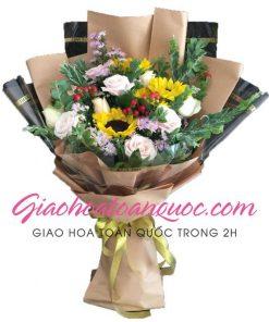 Bó hoa tươi giao hoa toàn quốc E19