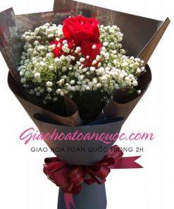 Bó hoa tươi giao hoa toàn quốc E23
