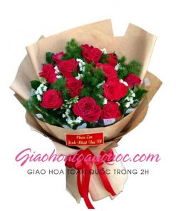 Bó hoa tươi giao hoa toàn quốc E26