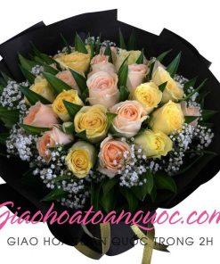 Bó hoa tươi giao hoa toàn quốc E27