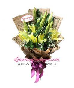 Bó hoa tươi giao hoa toàn quốc E45