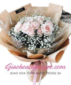 Bó hoa tươi giao hoa toàn quốc E47