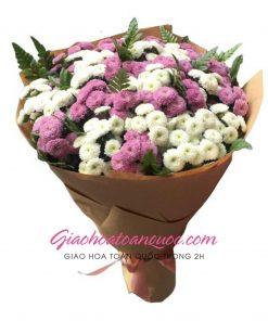 Bó hoa tươi giao hoa toàn quốc E48