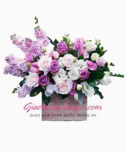 Giỏ hoa tươi giao hoa toàn quốc D04