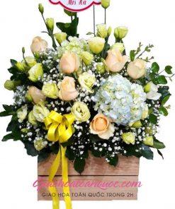 Giỏ hoa tươi giao hoa toàn quốc D05