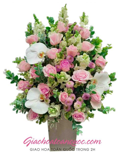 Giỏ hoa tươi giao hoa toàn quốc D10