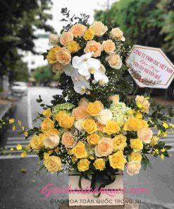 Giỏ hoa tươi giao hoa toàn quốc D13