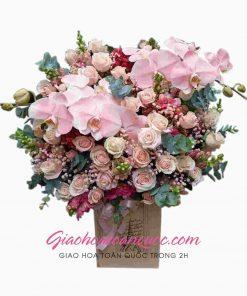 Giỏ hoa tươi giao hoa toàn quốc D14