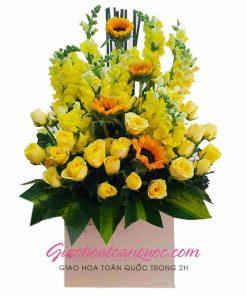Giỏ hoa tươi giao hoa toàn quốc D19