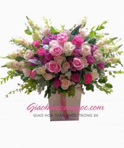Giỏ hoa tươi giao hoa toàn quốc D20