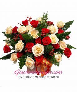 Giỏ hoa tươi giao hoa toàn quốc D23