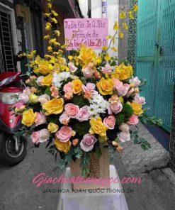 Giỏ hoa tươi giao hoa toàn quốc D28