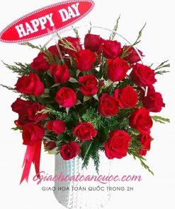 Giỏ hoa tươi giao hoa toàn quốc D29