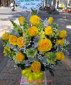 Giỏ hoa tươi giao hoa toàn quốc D45