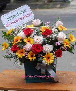 Giỏ hoa tươi giao hoa toàn quốc D48